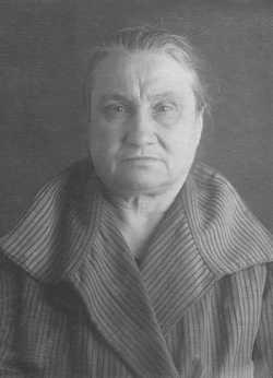 Мария Николаевна Волнухина. Москва. Таганская тюрьма. 1937 год
