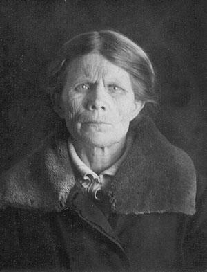 Надежда Григорьевна Ажгеревич. Москва. Таганская тюрьма. 1937 год