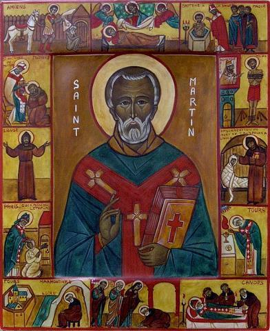 Святитель Мартин Милостивый, епископ