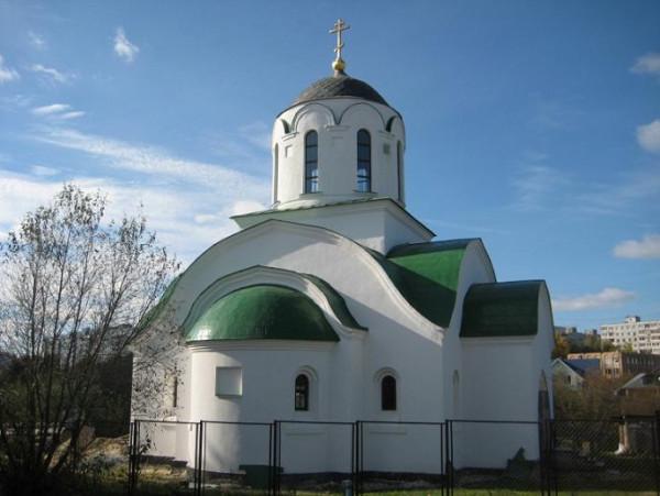 Церковь Троицы Живоначальной в Протопопове - Коломна, современный вид