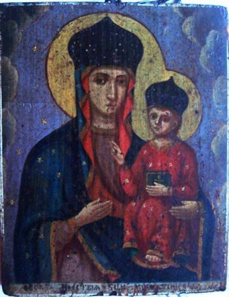 Икона Богородицы Мохнатинская