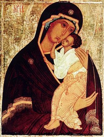 Икона Богородицы «Одигитрия» Ярославская
