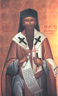 Святитель Мелетий Александрийский (Пигас), патриарх