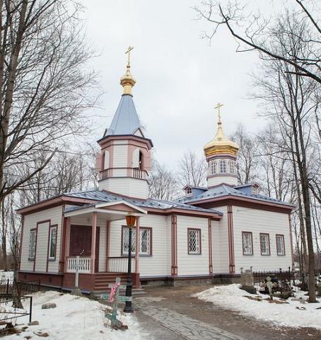 Храм вмц. Екатерины в Петрозаводске