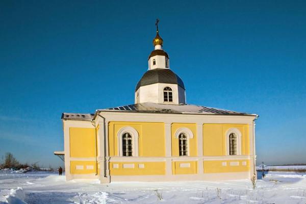 село Мишино, Зарайский район, церковь Николая Чудотворца
