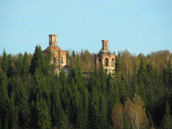 Церковь Рождества Христова - Цылиба (Цилеба, Целиб), урочище - Ленский район - Архангельская область, все, что осталось от пустыни