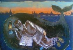 Иона в очреве кита