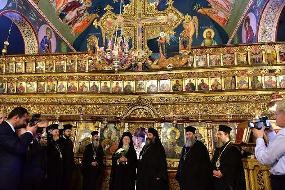 В Греции освящен первый храм в честь преподобного Порфирия Кавсокаливита 2