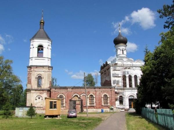 Московская область, Лотошинский район, с.Грибаново, храм пророка Иоанна Предтечи