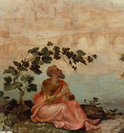 пророк Иона под тыквой