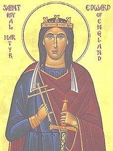 Святой благоверный Эдуард, король Англии, страстотерпец