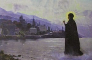 Чудесные явления Пресвятой Богородицы на праздник Покрова в одноименном соборе Русского на Афоне