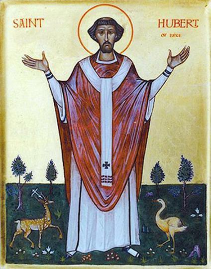 Святитель Губерт (Хуберт) Льежский (или Люттихский)