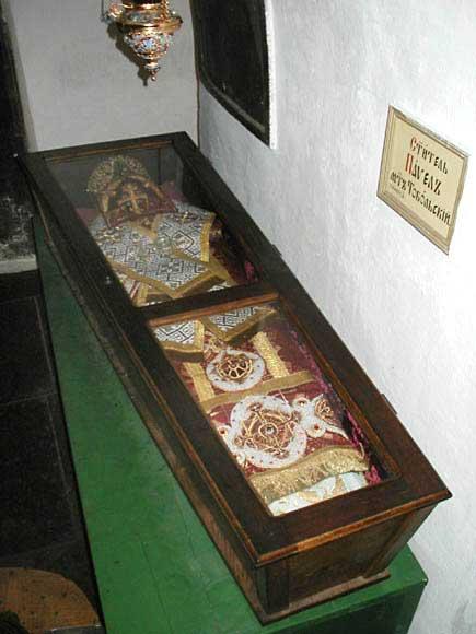 Святитель Павел (Конюскевич), митрополит Тобольский, мощи