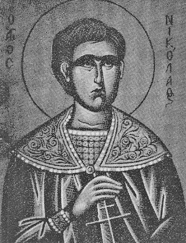 Святой новомученик Николай Пантополис (лавочник)