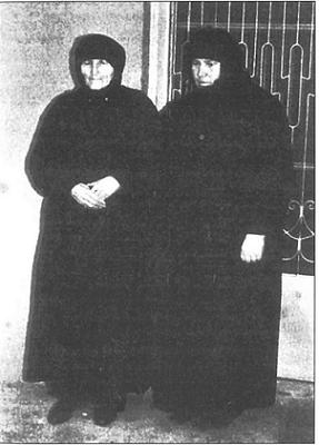 Софиа Самара и ее мать Афина