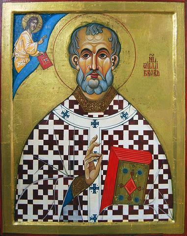 Святитель Виллиброрд,  архиепископ Утрехтский
