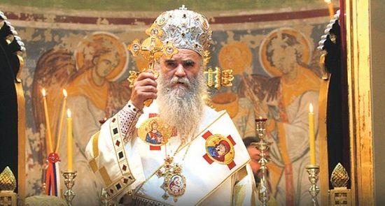 Митрополит Черногорский и Приморский Амфилохий 3