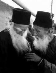 старцы монахи