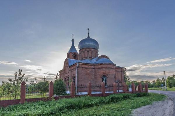 Церковь Успения Пресвятой Богородицы - Мячково - Коломенский район - Московская область