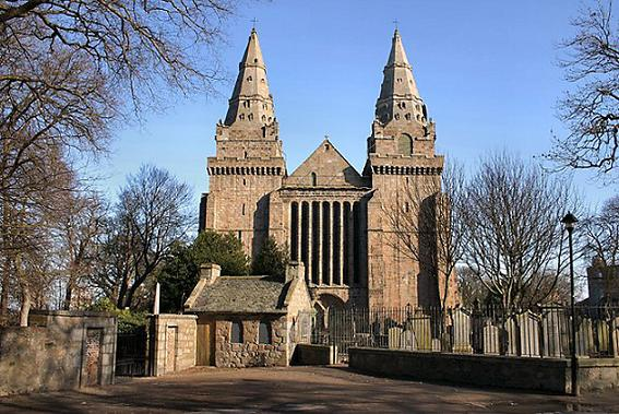 Собор St Machar's (св. Махара) Cathedral в Абердине