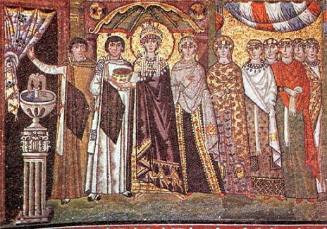 Святые правоверный царь Иустиниан I, Управда и царица Феодора Греческая 2