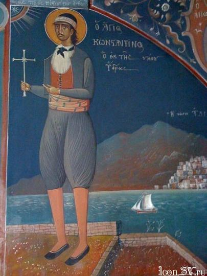 Константин Идрийский, Родосский