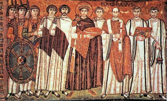 Святые правоверный царь Иустиниан I, Управда и царица Феодора Греческая 1