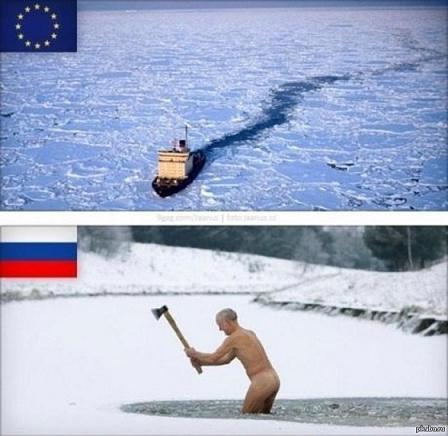 эту страну не победить ледокол и морж