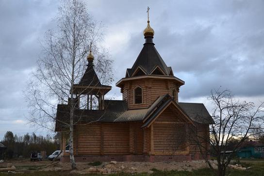 храм блаж. Матроны Анемнясевской, строится, с. Анемнясево, Касимовский район