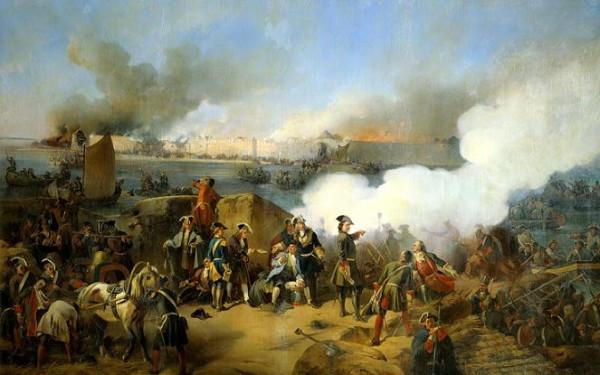 взятие крепости Нотебург (1702)