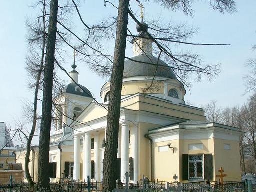 Храм Рождества Иоанна Предтечи в Ивановском (в 1960 году село Ивановское стало частью Москвы)