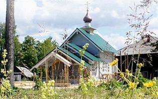 Приписной храм прп.. Филиппа Рабангского, д. Слобода, Сокольский р-н