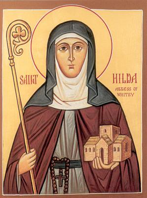 Преподобная Хильда (Hilda), игумения Уитбийская