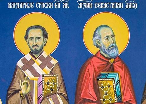 святитель Мардарий (Ускокович), епископ Американский и Канадский  и преподобный Севастиан (Дабович) Джексонский