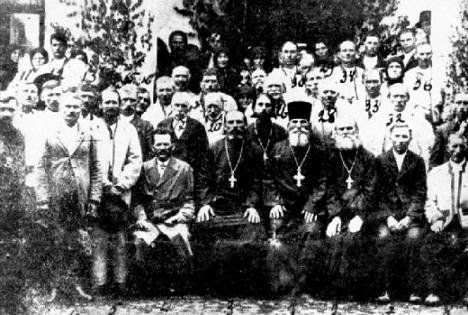 Участники Мараморош-Сиготского процеса, 1924г. После суда, спустя 10 лет