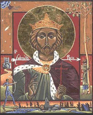 Мученик Эдмунд, король Восточно-Английский