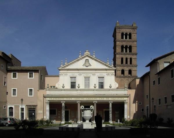 Церковь Санта Чечилия ин Трастевере (Santa Cecilia in Trastevere)
