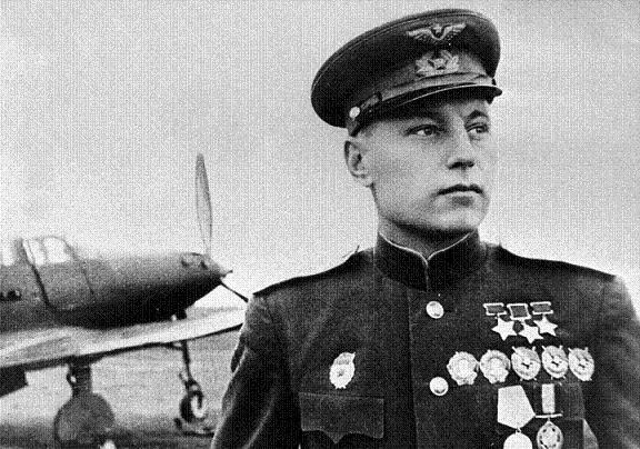 А.И. Покрышкин трижды герой СССР