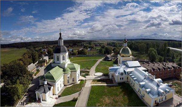 монастырь Спаса Нерукотворного пустынь в Клыково