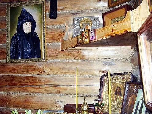 монастырь Спаса Нерукотворного пустынь в Клыково - келья матушки Сепфоры