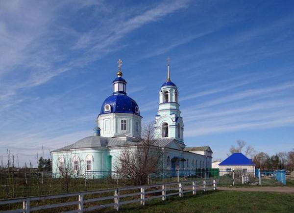 Пузево. Церковь Покрова Пресвятой Богородицы