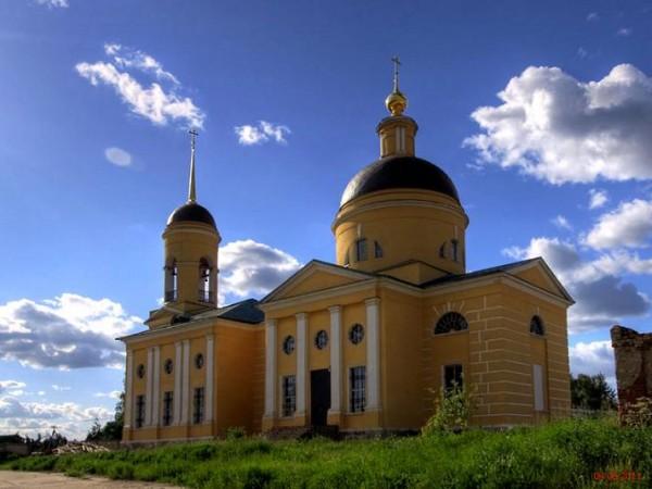 Шарапово. Церковь иконы Божией Матери Всех скорбящих Радость