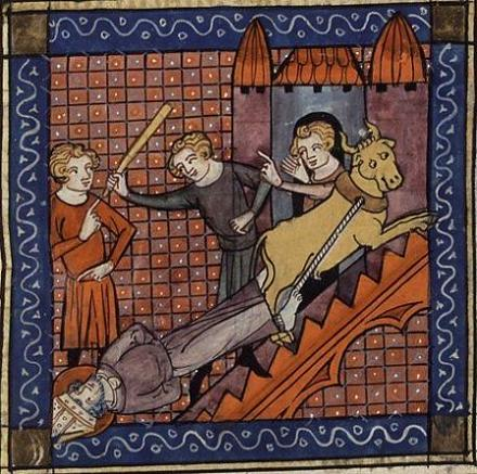 Мученичество святого Сатурнина