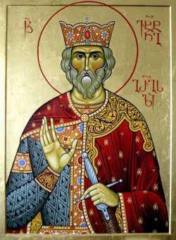 Святой благоверный Вахтанг I Горгасали, царь Картли