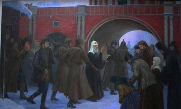 арест патриарха Тихона