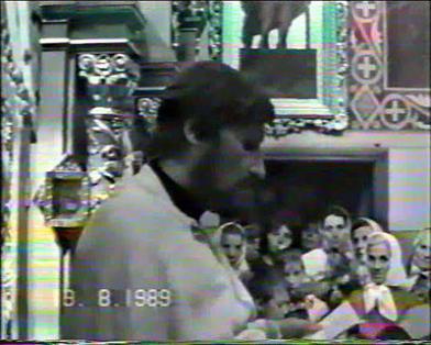 Председатель Инициативного Комитета по возрождению Украинской Автокефальной Православной Церкви священник Богдан Михайлечко. 1989 год