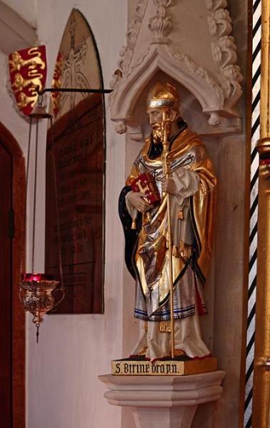 Святитель Вирин Дорчестерский, епископ, апостол Уэссекса