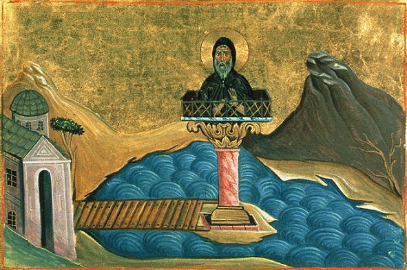 Преподобный Феодул Константинопольский, Едесский, столпник
