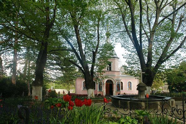 Топловский Свято-Троице Параскевиевский женский монастырь, Крым